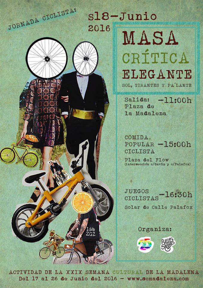 Cartel Actos Ciclistas SCultural2016